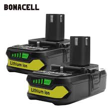 Bonacell <b>18V 2500mAh P107 Battery</b> Replacement for Ryobi P104 ...