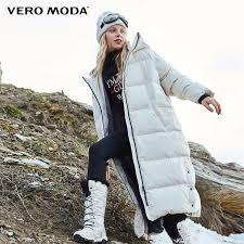 Vero Moda 2019 New Hooded Oversize 90% <b>White Duck Down</b> ...