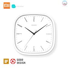 Ê <b>New</b> Xiaomi Mijia <b>Chingmi QM</b>-<b>GZ001</b> Wall Clock Ultra-quiet Ultra ...