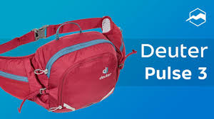 Поясная сумка Deuter <b>Pulse</b> 3. Обзор - YouTube