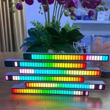 bling  1Pcs รถบรรยากาศที่มีสีสัน 32 LED 18 สี <b>Voice</b>-<b>Activated Pickup</b> ...