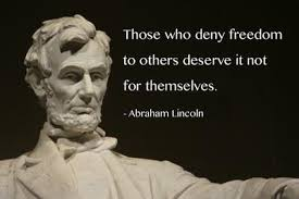 Abraham Lincoln Quotes On Freedom. QuotesGram