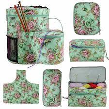 Looen Empty Square <b>Storage</b> Bag <b>6 Styles Yarn</b> Knitting Bag For ...