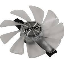 <b>Кулер</b> для видеокарты <b>Sapphire Nitro Gear</b> LED Fan 4N001-03 ...