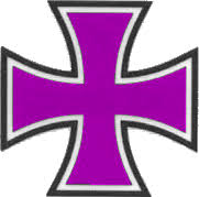 Resultado de imagem para cruz de saint germain violeta