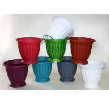 Купить <b>пластиковые горшки для цветов</b> оптом от производителя ...