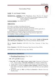 objective for teacher how to write a resume for a teaching job in resume examples sample of resume for teachers academic how to write a resume for teaching