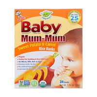 Hot Kid, <b>Baby Mum</b>-<b>Mum</b>, <b>органические</b> рисовые сухарики ...