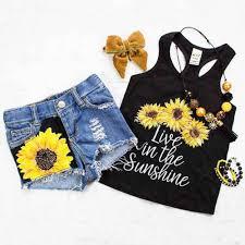 <b>2018 new</b> Stock <b>Kids</b> Baby Girls Rainbow Tops T-shirt <b>Denim</b> Pants ...
