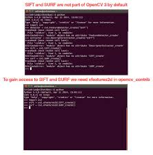 Where did SIFT and <b>SURF</b> go in OpenCV 3? - PyImageSearch