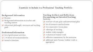 portfolio 101 a professional teaching portfolio robin rush boggs 15 essentials to include in a professional