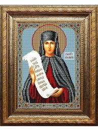 """<b>Набор для вышивания</b> бисером """"Икона. Святая Аполлинария ..."""