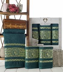 <b>Комплект полотенец</b> TWO DOLPHINS <b>махр</b>.в коробке (50x90/2 ...