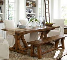 barn kitchen table outdoor makeover challenge week  diy pottery barn table knockoff making it in