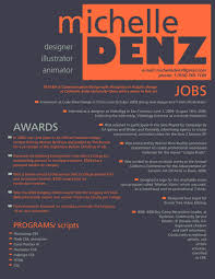 creative resumes and cvs samples resume design by ~mizskellington