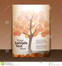 autumn flyer design royalty stock image image 23263126 autumn flyer design