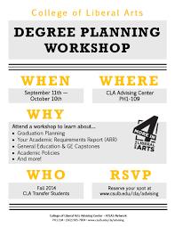 economics blog archive degree planning workshops atlas workshop for fall 2014 cla transfer students