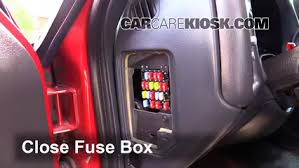 interior fuse box location chevrolet s  interior fuse box location 1994 2004 chevrolet s10 1999 chevrolet s10 2 2l 4 cyl standard cab pickup