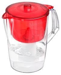 Купить Фильтр <b>кувшин</b> БАРЬЕР Лайт <b>1.6 л</b> красный по низкой ...