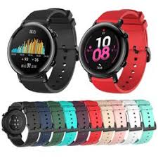 <b>20mm Silicone</b> Watch Band for Huawei Watch GT2 42mm Soft <b>Sport</b> ...