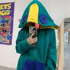 Deeptown <b>Frog</b> Hoodie Winter Fashion 2020 <b>Korean Style</b> Splice ...
