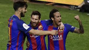 Lionel Messi inspires Barcelona to third straight Copa del Rey ...