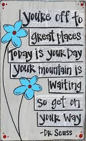 Mountain quote for challenging day ahead. | Back to School: Ideas ... via Relatably.com