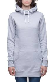 <b>Толстовка URBAN CLASSICS Ladies</b> Long Sweat Hoody (Grey, M ...
