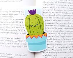 <b>Cactus Magnetic Bookmark</b> Kawaii <b>Cactus</b> Planner Clip <b>Cute</b> | Etsy