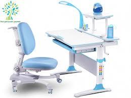 <b>Комплект</b> парта и кресло <b>Mealux EVO</b>-<b>30</b> (с лампой) (дерево ...