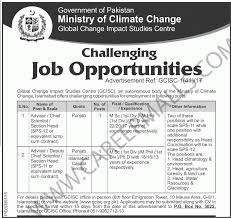 career opportunities in gcisc ministry of climate change career opportunities in ministry of climate change government jobs 20 217
