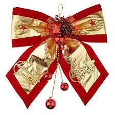Buy B Blesiya <b>Christmas Bow Xmas Bowknot</b> Ball <b>Christmas Tree</b> ...
