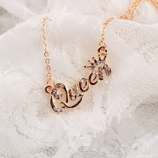 Wholesale <b>SHUANGR Luxury Gold Color Queen</b> Crown Chain ...