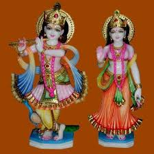 Image result for images of idols of radha krishna