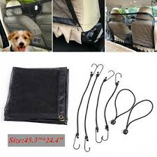 <b>Universal Pet Safety Net</b> Car SUV Van Seat Mesh Dog Barrier ...