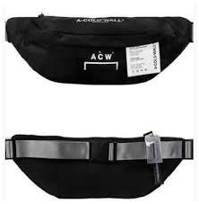 <b>2019 Fashion</b> Stylist ACW A-Cold Wall BLACK <b>CANVAS</b> UTILITY ...
