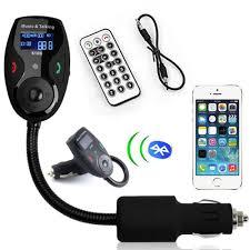 Leoie Handsfree Wireless <b>Bluetooth</b> FM Transmitter LCD MP3 ...