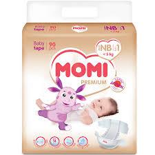 <b>Подгузники Momi</b> Лунтик <b>Premium NB</b> 0-5 кг. 90 шт.: с бесплатной ...