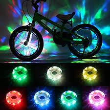 DAWAY Rechargeable Bike Wheel Lights - A16 Cool ... - Amazon.com