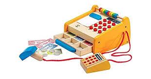 Checkout Register <b>Kids</b> Wooden <b>Pretend Play</b> Set <b>Toy Play</b> Pretend ...