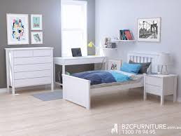 Kids Bedroom Furniture Packages Dandenong Single Bedroom Suites White Modern B2c Furniture