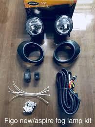 Car <b>Fog Lamp Light for</b> Ford Figo Aspire (Black, Set of 2) - Sai Shop ...