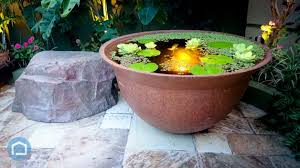 diy patio pond: outdoor lily pond outdoor pond deck  outdoor lily pond