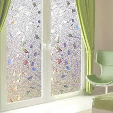 <b>funlife</b> White Dandelion Scrub Electrostatic <b>Glass</b> Film <b>Window</b> ...