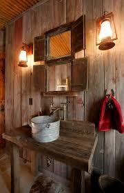 f primitive country bathroom vanity ideas diy custom with rustic teak wooden table vanity washbowl using aluminum vessel bowl and attractive wall mirror attractive vanity lighting bathroom lighting