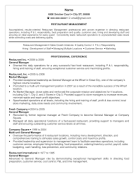 skills of a restaurant manager for a resume sample resume of multi unit restaurant management resume general manager resume general manager resume sample restaurant