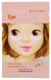 Etude House <b>Патчи для кожи вокруг</b> глаз Collagen Eye Patch ...