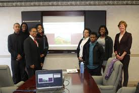 job shadowing opportunity leads to invaluable experience for petersburg high school fbla members ing ceo patsy stuard at fort lee federal credit union this job shadowing