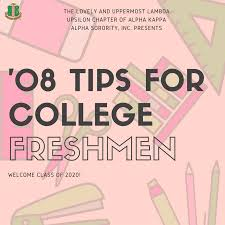 events the lambda upsilon chapter of alpha kappa alpha sorority 08 tips for college freshmen png