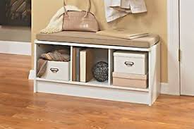 storage bench for living room: image is loading  cube storage bench seat entryway furniture home